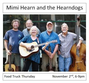 Food Truck Thursday with Mimi Hearn and the Hearndogs