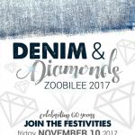 Denim and Diamonds: Zoobilee 2017! Celebrating 60 years!