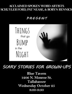 Things That Go Bump in the Night: Scary Stories for Grown-ups