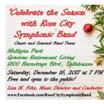 Rose City Symphonic Band Concert: Celebrate the Season