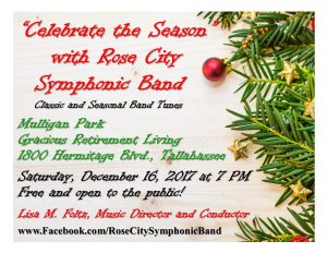 Rose City Symphonic Band Concert: Celebrate the Season
