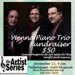 Vienna Piano Trio, Benefit for The Artist Series