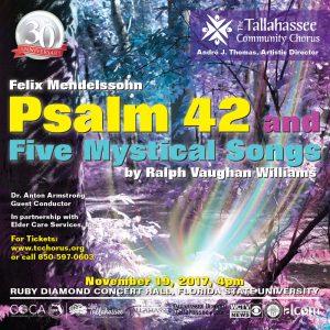 The Tallahassee Community Chorus Fall Concert