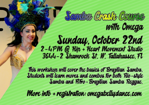 Dance Workshop: Samba Crash Course