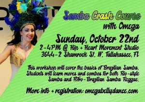 Dance Workshop: Samba Crash Course