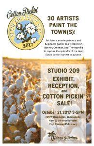 Cotton Pickin' Plein Air Paintout