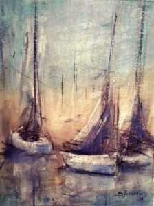 """Opening of """"Pastels and Other Passions"""" paintings by Steve Johnson at Jefferson Arts Gallery"""