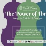 "Tallahassee Bach Parley presents ""The Power of Three"""