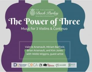 """Tallahassee Bach Parley presents """"The Power of Three"""""""