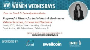 "FREE Lunch & Learn ""Purposeful Fitness for Individuals and Businesses"""