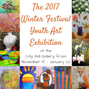 The Opening Reception and Awards Announcement for the 2017 Winter Festival Youth Art Exhibit