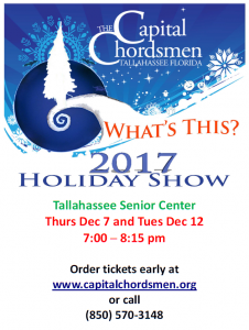 What's This? A Holiday Harmony Show with The Capital Chordsmen