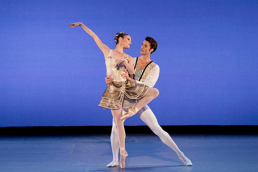 the suzanne farrell ballet presented by school of dance at