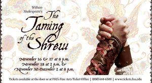 The Taming of the Shrew at Theatre TCC!