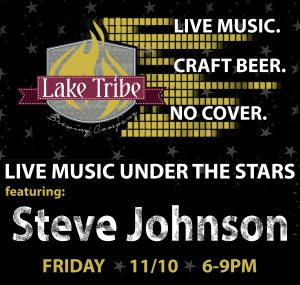 Live Music Under the Stars w/ Steve Johnson