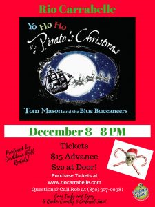 """Tom Mason and the Blue Buccaneers present """"A Pirate Christmas"""""""