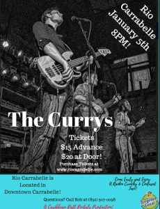 The Currys at Rio Carrabelle - SOLD OUT!