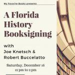 Florida History Book Signing