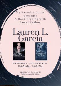 Lauren L. Garcia Book Signing