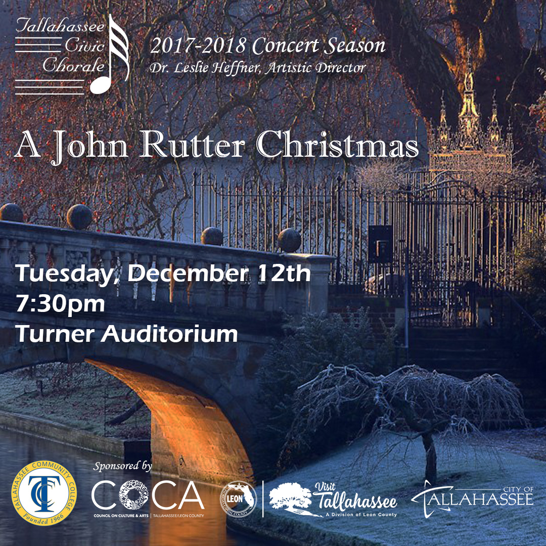 A John Rutter Christmas presented by Tallahassee Civic Chorale ...