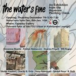 """The Water's Fine,"" an art exhibition by The Aqueous Painting Class."