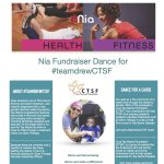 Nia Fundraiser Dance for #teamdrewCTSF