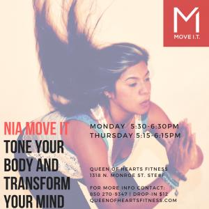 Thursday Nia Move IT- Cardio Dance