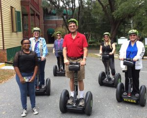 Historic Tour of Cascades Park and Railroad Square by Segway