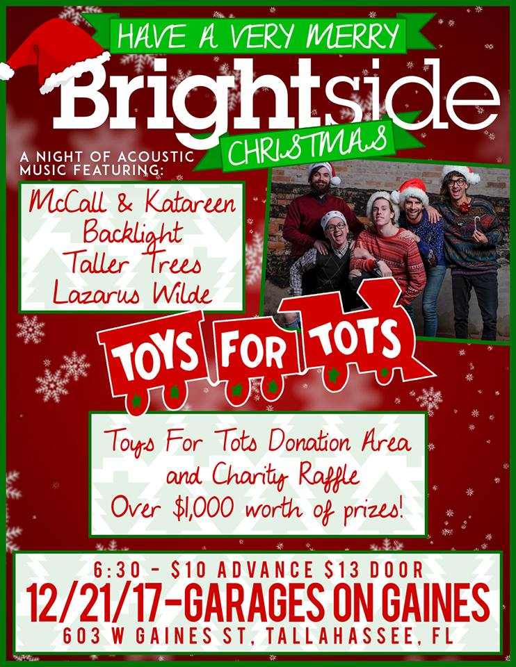 Toys For Tots Raffle : A brightside christmas toys for tots fundraiser