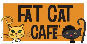 Local Artists and Groovy Kitties at Fat Cat Cafe'