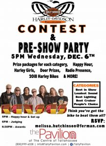 Harley Davidson Competition before Kansas Concert