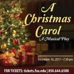 A Christmas Carol: A Musical Play - FSU's 11th Annual Benefit Concert