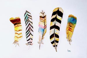 Very Impressive Painting (VIP) Class | Watercolor Feathers