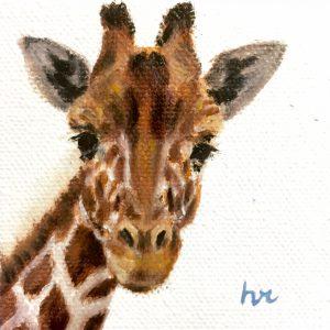 Very Impressive Painting (VIP) Class | Giraffe in Oil