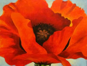 Whet Your Palette Class | Georgia O'Keefe's Red Poppy