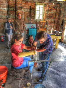 FAMILY: Glassblowing | Paperweight Intro Class: January 21st