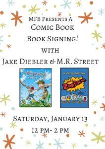 Comic Book Signing