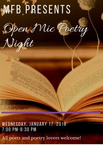 Open Mic Poetry Night