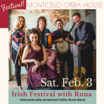 2nd Annual Irish Festival featuring Celtic roots band, Runa