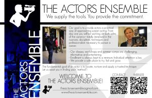 The Actors Ensemble On-Camera Workshop
