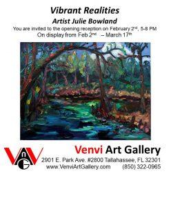 Vibrant Realities, Art Opening
