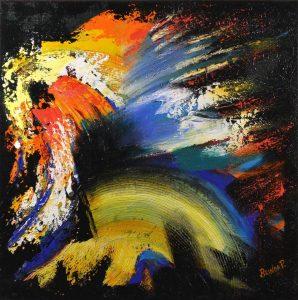 Brinda Pamulapati: Texture in Colors, Art Opening