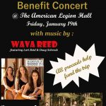 Benefit Concert with Wava Reed, The Adventures of Anabelle Lyn and Two Foot Level