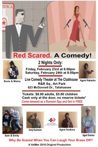 Red Scared. A Comedy!