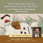 Free Lecture: 1559 Luna Settlement on Pensacola Bay