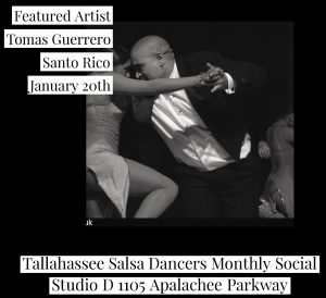 Tallahassee Salsa Dancers Monthly Social