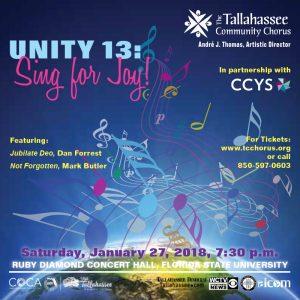 Unity 13: Sing for Joy!