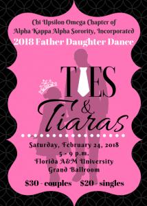 2018 Father Daughter Dance: Ties and Tiara's