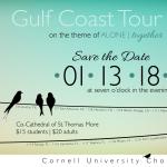 Cornell University Chorus Gulf Coast Tour