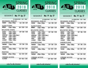 Oglesby Art Center Spring 2018 Session 2 classes